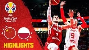 خلاصه بسکتبال چین - لهستان (جامجهانی 2019)
