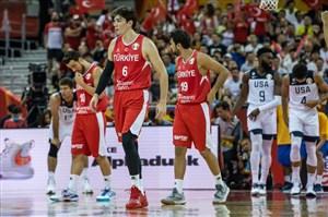 خلاصه بسکتبال آمریکا 93 - ترکیه 92 (جام جهانی)