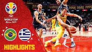 خلاصه بسکتبال برزیل 79 - یونان 78 (جام جهانی)