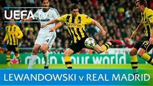 پنج گل خاطره انگیز روبرت لواندوفسکی به رئال مادرید
