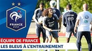 تمرین تیم ملی فرانسه برای مقدماتی یورو 2020