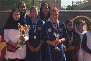 تیم دختران تهران قهرمان مسابقات تنیس کشور شدند