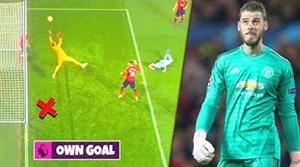 اشتباهات دروازه بان های مشهور دنیای فوتبال