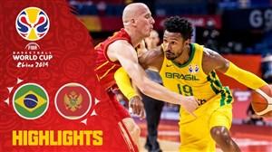 خلاصه بسکتبال برزیل 84 - مونته نگرو 73 (جام جهانی)