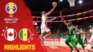 خلاصه بسکتبال کانادا 82 - سنگال 60 (جام جهانی)