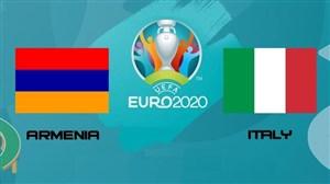 خلاصه بازی ارمنستان 1 - ایتالیا 3