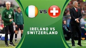 خلاصه بازی سوئیس 1 - جمهوری ایرلند 1 (مقدماتی یورو)