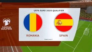 خلاصه بازی رومانی 1 - اسپانیا 2 (مقدماتی یورو)