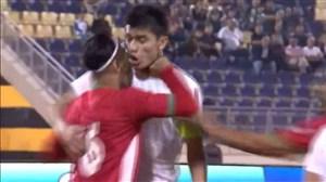 درگیری یونس دلفی با بازیکن ازبکستان