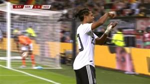 گل اول آلمان به هلند ( سرژ گرنابری )