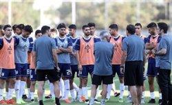 نخستین تمرین تیم ملی ایران در هنگ کنگ