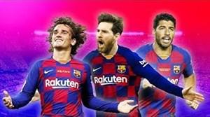 برترین خط حمله های این فصل فوتبال اروپا