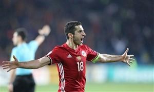 خلاصه بازی ارمنستان 4 - بوسنی 2 (درخشش مخیتاریان)
