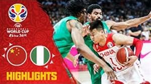 خلاصه بسکتبال چین - نیجریه