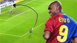گلهای دیدنی ساموئل اتوئو ستاره کامرونی دنیای فوتبال