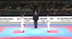 کسب مدال طلای مسابقات کاراته 2019 توسط سارا بهمن یار