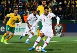 خلاصه بازی پرتغال 5 - لیتوانی 1 (پوکر رونالدو)