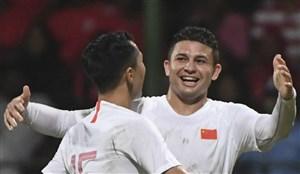 استارت فوق العاده مهاجم برزیلی تیم ملی چین