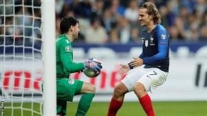 تبریک ستاره ی فرانسه به دروازه بان آندورا
