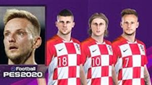 قدرت و استایل بازیکنان کرواسی در PES 2020