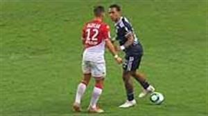 درگیری های بازیکنان در فوتبال