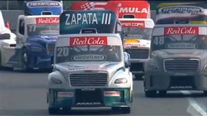 مسابقه جالب مینی کامیون ها