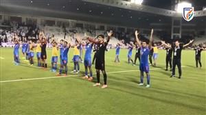 شادی هندی ها پس از متوقف کردن قطر