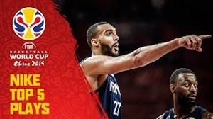 5 حرکت برتر امروز جام جهانی بسکتبال (20-06-98)