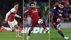 7 چپ پای برتر دنیای فوتبال