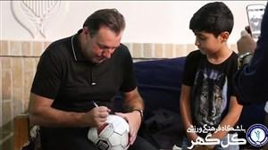 استقبال سیرجانی ها از سرمربی تیم ملی فوتبال ایران