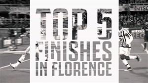 5 گلبرتر یوونتوس در استادیوم فلورانس برابر فیورنتینا