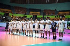 والیبال ایران محکوم به شکست هند و چین