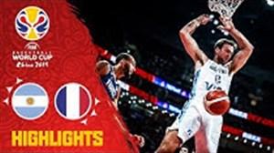 خلاصه بسکتبال آرژانتین - فرانسه (جامجهانیبسکتبال)