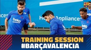 تمرین امروز تیم بارسلونا (23-06-98)