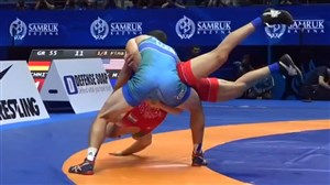 شکست سنگین ناصرپور در برابر نماینده ازبکستان