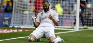 رئال مادرید 3-2 لوانته؛ تیم زیدان جان ندارد