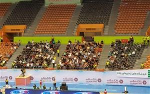 استقبال ضعیف تهرانیها از والیبال قهرمانی آسیا