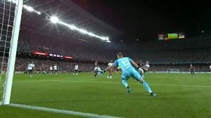 گل اول بارسلونا به والنسیا (آنسو فاتی)