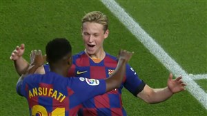 گل دوم بارسلونا به والنسیا (دی یانگ)