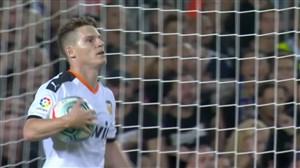 گل اول والنسیا به بارسلونا (گامیرو)