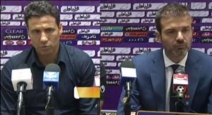 کنفرانس خبری بعد از بازی نفت مسجد سلیمان - استقلال