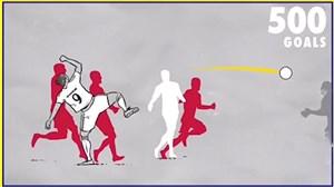 سالروز پانصدمین گل دوران فوتبال زلاتان با یک ضربه استثنایی