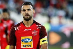 احمد نور؛ کاپیتان پرسپولیس در هفته سوم