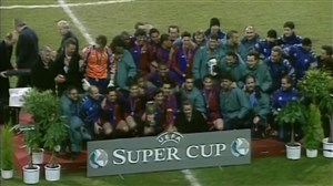 پیروزی خاطرهانگیز بارسلونا برابر دورتموند در فینال سوپرکاپ اروپا