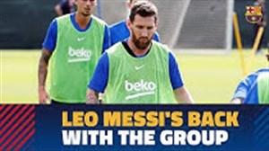 مسی در فهرست بارسلونا برابر دورتموند