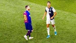 5 بازی که رونالدو برابر مسی شکست خورد