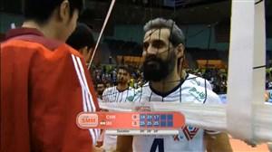 ویدئو خلاصه والیبال ایران 3 - چین 0 (قهرمانی آسیا)