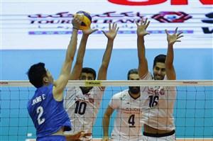 خلاصه والیبال ایران 3 - چین 0 (قهرمانی آسیا)
