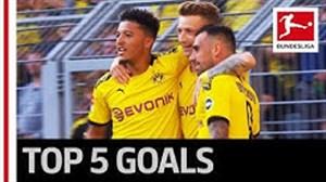 5 گل برتر هفته چهارم بوندسلیگا