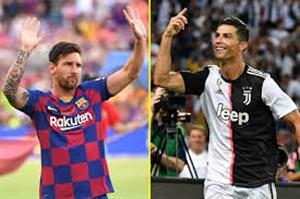 رونالدو: میخواهم توپهای طلایم بیشتر از مسی باشد